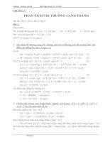 Bài tập kinh tế vi mô có đáp án
