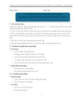 GIÁO ÁN HOẠT ĐỘNG NGOÀI GIỜ LÊN LỚP KHỐI 7 CHỦ ĐIỂM THÁNG 3 VÀ THÁNG 4 CHUẨN