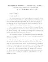 SKKN: MỘT SỐ BIỆN PHÁP GIÚP TRẺ 5-6 TUỔI PHÁT TRIỂN NGÔN NGỮ THÔNG QUA HOẠT ĐỘNG LÀM QUEN VĂN HỌC TẠI TRƯỜNG MẦM NON HOA PHƯỢNG