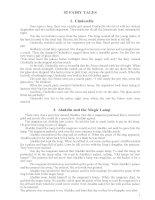 52 truyện cổ tích bằng tiếng anh cho bé