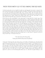 Phân tích nhân vật Từ Hải trong Truyện Kiều