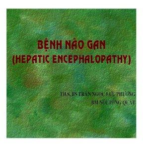 Bài giảng bệnh não gan (hepatic encephalopathy) ths BS trần