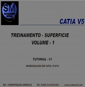 CATIA V5 - TREINAMENTO - SUPERFICIE VOLUME - 1