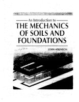 AN INTRODUCTION TO CRITICAL STATE SOIL MECHANICS