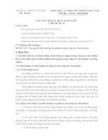 Bài thu hoạch bồi dưỡng thường xuyên giáo viên (nội dung 3)