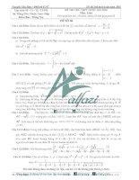 Bộ đề thi thử toán THPT 2016 (có đáp án) 6 đề