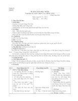 GIÁO ÁN NGỮ VĂN 7 TUẦN 24 CHUẨN HAY NHẤT