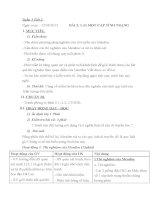 giao an sinh 9  Bài 2: Lai một cặp tính trạng