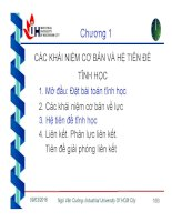 Bài giảng cơ lý thuyết   chương 1  các khái niệm cơ bản và hệ tiên đề tĩnh học