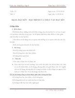 Bài 41: Hạt kín  Đặc điểm của thực vật hạt kín