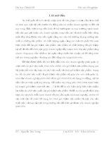 KẾ TOÁN CHI PHÍ SẢN XUẤT VÀ TÍNH GIÁ THÀNH SẢN PHẨM TẠI CÔNG TY CỔ PHẦN CƠ KHÍ XÂY DỰNG SỐ 5