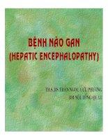 Bài giảng bệnh não gan (hepatic encephalopathy)   ths  BS  trần ngọc lưu phương