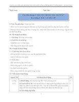 GIÁO ÁN HOẠT ĐỘNG NGOÀI GIỜ LÊN LỚP 7 TRỌN BỘ MỚI NHẤT