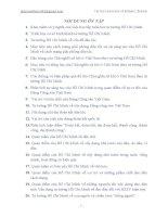 20 câu hỏi ôn tập tư tưởng Hồ Chí Minh