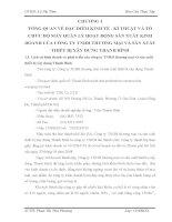 TÌNH HÌNH tổ CHỨC kế TOÁN tại CÔNG TY TNHH THƯƠNG mại và sản XUẤT THIẾT bị xây DỰNG THANH BÌNH