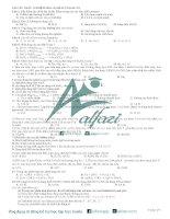 tuyển chọn 120 câu trắc nghiệm hóa 10 ôn HK2 có đáp án