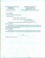 Đề và đáp án KT HK I Văn 9 năm học 2013 -1024 của Khánh Hòa