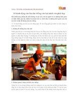Những hành động làm hư chồng của phụ nữ