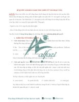 Bí quyết làm bài CLOZE TEST (ĐIỀN TỪ VÀO ĐOẠN VĂN)