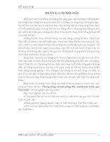 Phương Hướng Và Biện Pháp Đẩy Mạnh Xuất Khẩu Gạo Việt Nam - Đề Án Kinh Tế Thương Mại