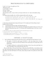 các bài tập về chiết khấu giấy tờ có giá( có đáp án )