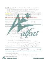 Tuyển tập các bài toán hệ phương trình (hay có đáp án chi tết)