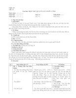 GIÁO ÁN NGỮ VĂN 7 TUẦN 15