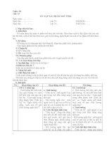 GIÁO ÁN NGỮ VĂN 7 TUẦN 18