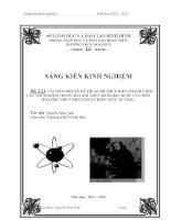 skkn cải tiến một số kỹ thuật để thực hiện thành công các thí nghiệm trong bảy bài thực hành bắt buộc của môn hóa học lớp 9 theo chuẩn kiến thức