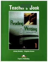 Reading and writing targets 1 TB