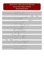 Bài 10 hàm đặc trưng