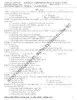 bài tập ôn tập vật lí 9 học kì 2 trắc nghiệm