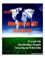 Bài giảng công nghệ sinh học môi trường   chương 5  năng lượng và chất đốt sinh học