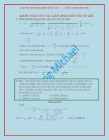 Ôn thi đại học môn vật lý tuyển tập tần số thay đổi liên quan đến ULmax UCmax