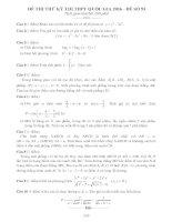 Tổng hợp 125 đề thi thử toán THPT quốc gia (có lời giải chi tiết 2016) phần 6 2