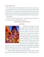DẠY học về các NHÂN vật LỊCH sử ở TRƯỜNG THCS ( lớp 7 ) (bản đầy đủ)(autosaved)