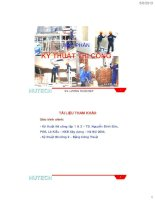 Bài giảng kỹ thuật thi công (phần 4  công tác lắp ghép)   lương hòa hiệp