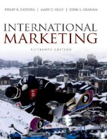 Philip cateora   INTERNATIONAL MARKETING