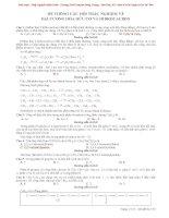[HOT] HỆ THỐNG CÂU HỎI TRẮC NGHIỆM VỀ  ĐẠI CƯƠNG HÓA HỮU CƠ VÀ HIĐROCACBON  có đáp án rất hay