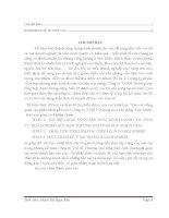 Báo cáo tổng quan các phần hành kế toán ở công ty TNHH thương mại xây dựng tam minh