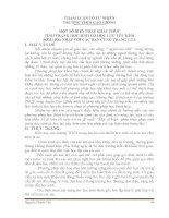 SKKN BIỆN PHÁP KHẮC PHỤC TÌNH TRẠNG HỌC SINH CÓ HỌC LỰC YẾU KÉM SỚM HÒA NHẬP VỚI CÁC BẠN CÙNG TRANG LỨA