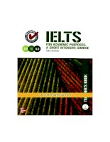 IELTS for academic purposes   teacher book