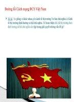 kinh tế thị trương tư bản CN  xã hội chủ nghĩa