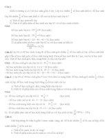 Toán 6: Dạng Bài giải-Ôn thi học kì II