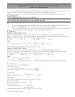 Chuyên đề kim loại và axit HNO3 hay và khó luyện thi THPT Quốc gia