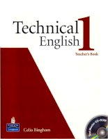 Technical english 1 TB
