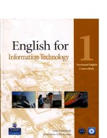 Lg english for information technology 1