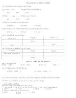 Bộ đề ôn tập hệ lớp 4 lên lớp 5