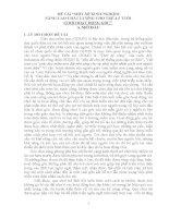 MỘT SỐ KINH NGHIỆM NÂNG CAO CHẤT LƯỢNG CHO TRẺ 45 TUỔI CHƠI HOẠT ĐỘNG GÓC
