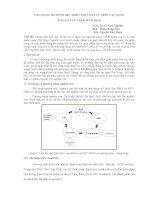 Ứng dụng mô hình HEC HMS tính toán lũ trên các sông tỉnh quảng trị và bình định